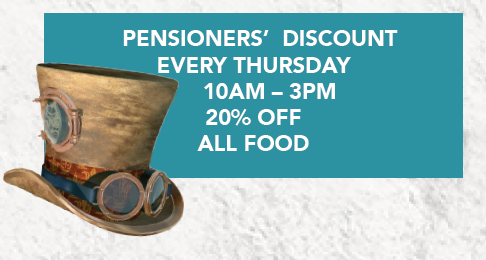 pensioners discount text